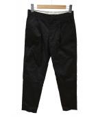 Drawer(ドゥロワー)の古着「タックパンツ」|ブラック