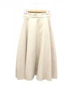BALLSEY(ボールジィ)の古着「ボンディングフェイクスエードフレアミディスカート」