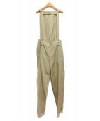 MM6(エムエムシックス)の古着「サスペンダー付パンツ」|オリーブ