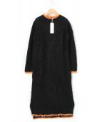 AKANE UTSUNOMIYA(アカネウツノミヤ)の古着「ニットワンピース」|ブラック