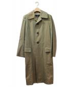 tricot COMME des GARCONS(トリコ コム デ ギャルソン)の古着「ステンカラーコート」|カーキ