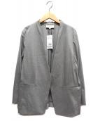 UNTITLED(アンタイトル)の古着「カトレアジャージジャケット」 グレー