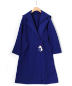 DRESSTERIOR(ドレステリア)の古着「2Wayミルドウールコート」|ロイヤルブルー
