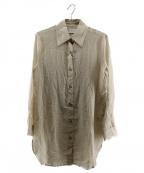 SIMON MILLER(サイモンミラー)の古着「ブラウス」|ベージュ