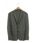 TOMORROW LAND(トゥモローランド)の古着「ウールカシミヤ2Bテーラードジャケット」