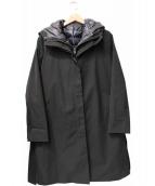 la.f(ラ エフ)の古着「ライナー付コート」|ブラック
