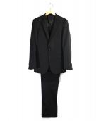 BARNEYS NEWYORK(バーニーズニューヨーク)の古着「2Bスーツ」|ブラック