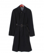 BARNEYS NEWYORK(バーニーズ・ニューヨーク)の古着「カシミヤコート」|ネイビー