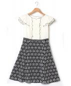 TOCCA(トッカ)の古着「ALIZEドレス」|ホワイト