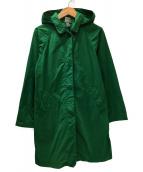 THE NORTH FACE(ザノースフェイス)の古着「フーデッドスプリングコート」|グリーン
