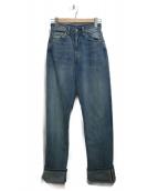 LEVIS VINTAGE CLOTHING(リーバイス ヴィンテージ クロージング)の古着「ハイウエストデニムパンツ」|ブルー