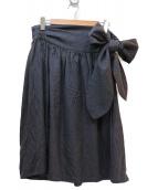 LIMI feu(リミフゥ)の古着「スカート」|チャコールグレー