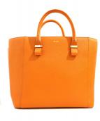 BELLMER(ベルメール)の古着「トートバッグ」|オレンジ
