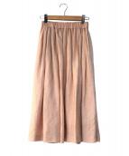 SACRA(サクラ)の古着「リネンギャザースカート」