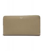 CELINE(セリーヌ)の古着「ラウンドファスナー長財布」|ベージュ