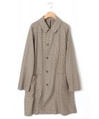 STEVEN ALAN(スティーブン アラン)の古着「SHIRT BALCOLLAR COAT」|ベージュ