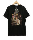 Thee Hysteric XXX(ジィ ヒステリック トリプルエックス)の古着「プリントTシャツ」|ブラック
