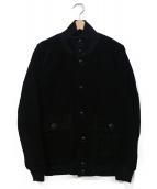 NO ID.(ノーアイディー)の古着「カウスウェードバルスタージャケット」|ブラック