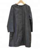 Demi-Luxe BEAMS(デミルクス ビームス)の古着「ノーカラーコート」|グレー
