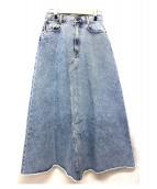 MADISONBLUE(マディソンブルー)の古着「デニムロングスカート」