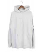 SUPREME(シュプリーム)の古着「15AW Tonal Embroidered Hooded」|グレー