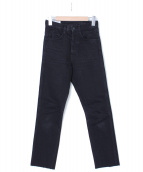 FUMIKA UCHIDA(フミカウチダ)の古着「デニムパンツ」|ブラック