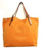 SLOW(スロウ)の古着「トートバッグ」|オレンジ
