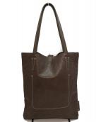 genten(ゲンテン)の古着「イージーレザートートバッグ」|ブラウン