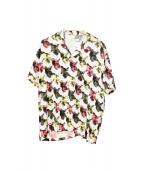 iroquois(イロコイ)の古着「ハイビスウォールペーパーシャツ」