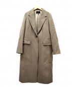 icB(アイシービー)の古着「チェスターコート」|グレージュ