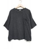 COMOLI(コモリ)の古着「ポケットTシャツ トップス」 グレー