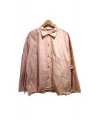 UNUSED(アンユーズド)の古着「カットオフシャツ」|ピンク