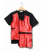 COMME des GARCONS(コムデギャルソン)の古着「デザインTシャツ」|ブラック