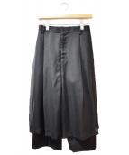 noir kei ninomiya(ノワール ケイ ニノミヤ)の古着「チュールパンツ」|ブラック