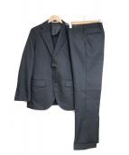 MACKINTOSH PHILOSOPHY(マッキントッシュフィロソフィー)の古着「トロッターセットアップスーツ」 ブラック