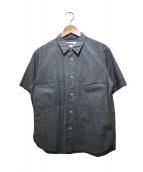 MHL.(エムエイチエル)の古着「半袖シャツ」 グレー