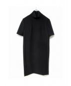 CEDRIC CHARLIER(セドリック シャルリエ)の古着「ハイネックワンピース」|ブラック