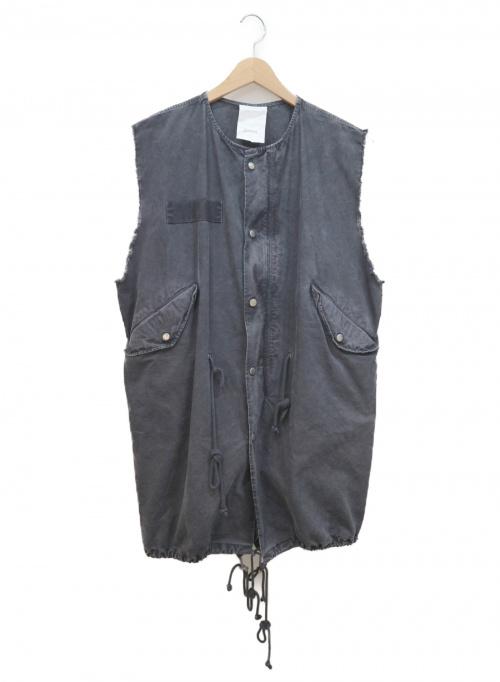 StandAlone(スタンドアローン)StandAlone (スタンドアローン) ノースリーブコート グレー サイズ:FREEの古着・服飾アイテム