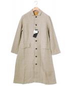 Soi-e(ソワ)の古着「ヘンプスプリングコート」|ベージュ