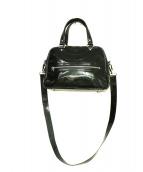 JACQUES LE CORRE(ジャックルコー)の古着「エナメル2Wayバッグ」|ブラック