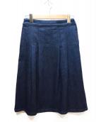 agnes b(アニエスベー)の古着「デニムスカート」|インディゴ