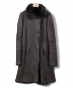 JOSEPH(ジョゼフ)の古着「ムートンコート」|モカ