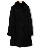 JOSEPH(ジョゼフ)の古着「ムートンコート」|ブラック