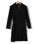 ESTNATION(エストネーション)の古着「ガウンコート」|ブラック