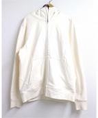 C.P COMPANY(シーピーカンパニ)の古着「ゴーグルジップアップ」|ホワイト