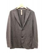 eleventy(イレブンティ)の古着「フランネルウールジャケット」