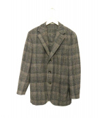 BOGLIOLI(ボリオリ)の古着「ウールジャケット」|ブラウン