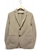 JOURNAL STANDARD(ジャーナルスタンダード)の古着「ストレッチジャケット」|ベージュ