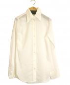 MADISON BLUE(マディソンブルー)の古着「ハイカラーマダムシャツ」|ホワイト