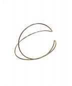 THE MEDLEY INST(ザ・メドレー・インスト)の古着「DOUBLE ORBIT WIREBRACELT」|ゴールド